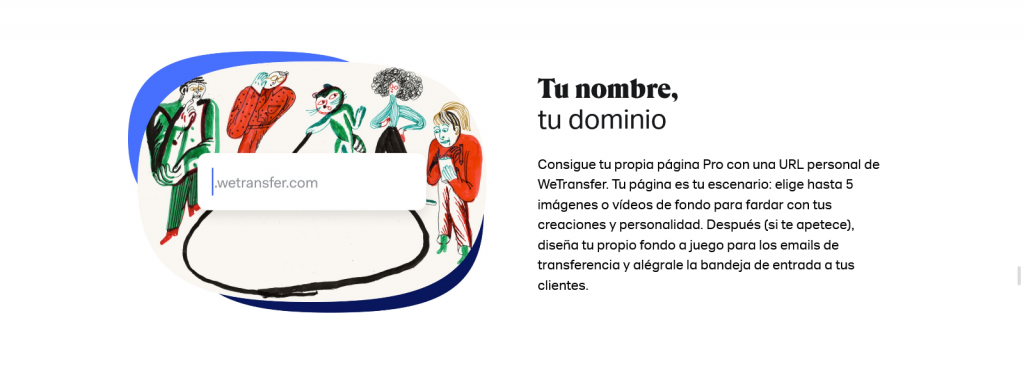 wetransfer que es