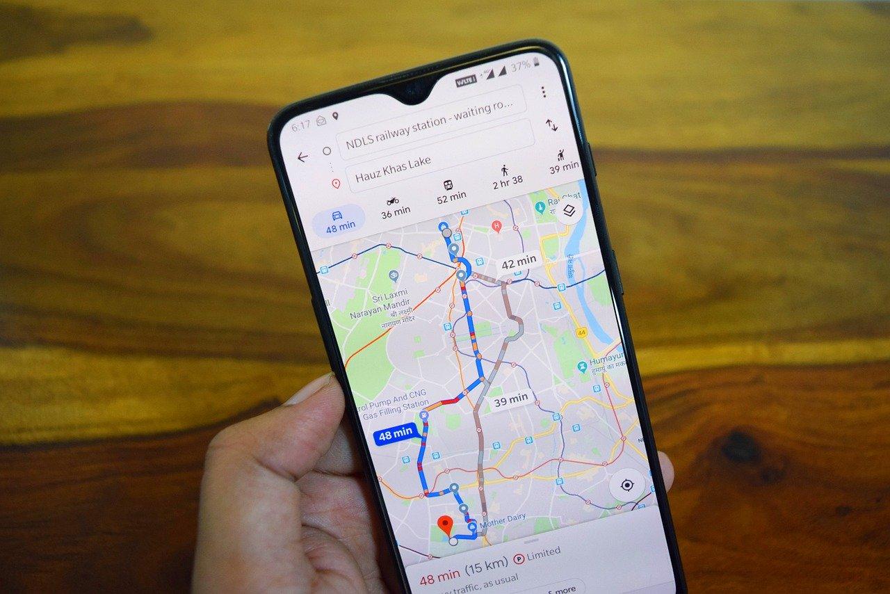 cómo salir primero en google maps en Premià de Mar