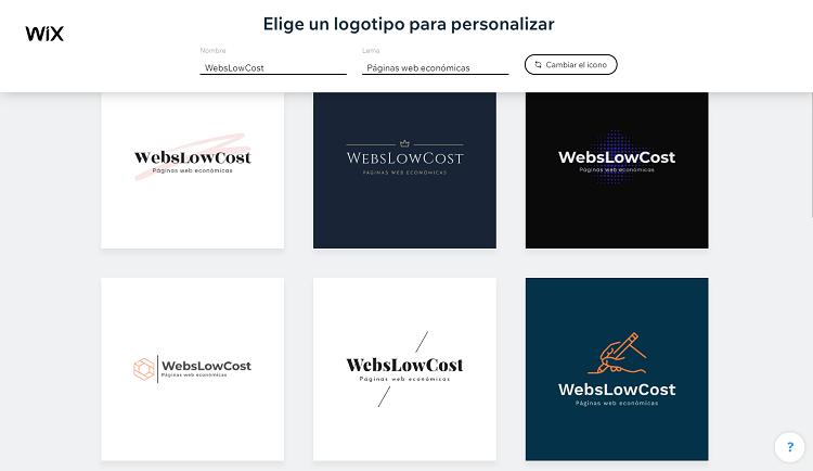 personalizar logotipo
